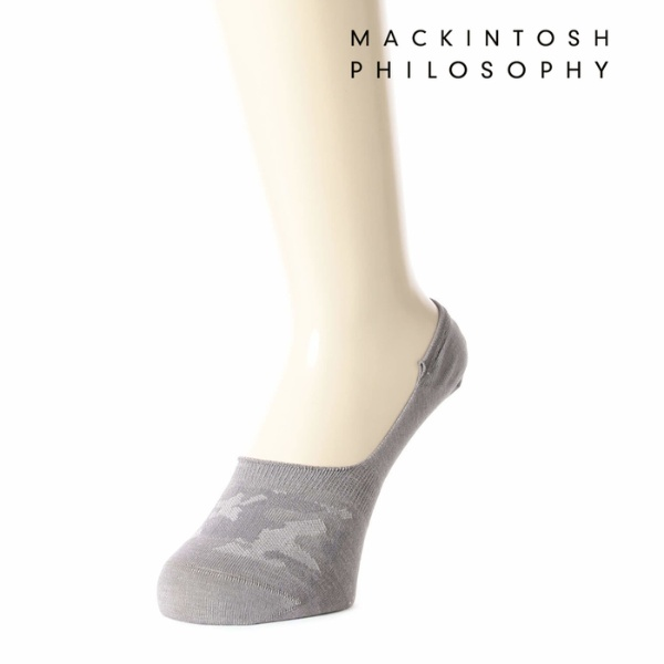 MACKINTOSH PHILOSOPHY(マッキントッシュフィロソフィー) 迷彩柄 カバーソックス