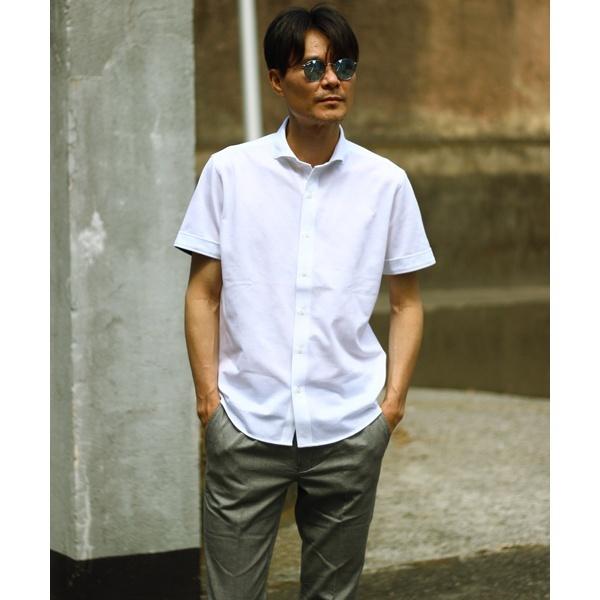 [マルイ]【セール】カットソー素材 半袖シャツ/グレンチェック/メンズビギ(MEN'S BIGI)