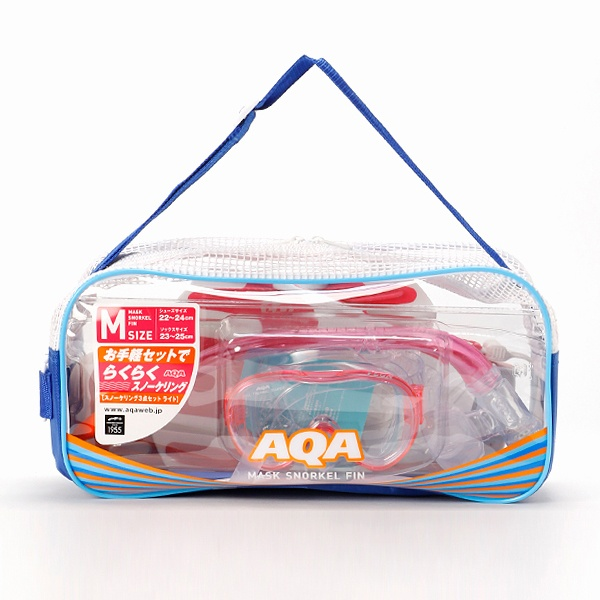 マルイウェブチャネル[マルイ]【セール】AQA スノーケリング3点セットライト M/エーキューエー(AQA)