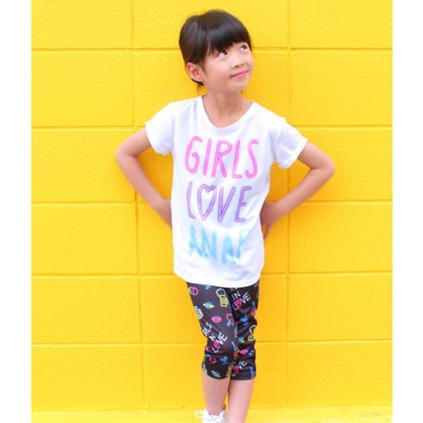 マルイウェブチャネル[マルイ]【セール】ネオン柄トップスレギンスセット/アナップキッズ&ガール(ANAP KIDS&GIRL)