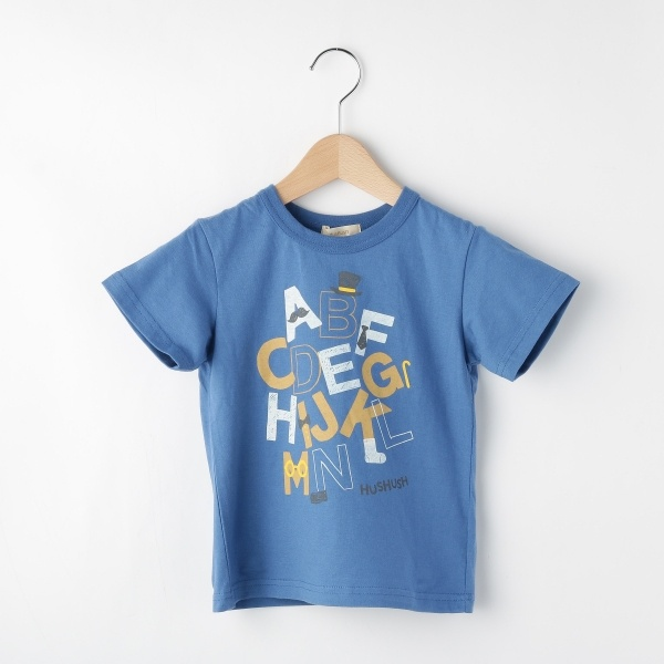 [マルイ]【セール】Tシャツ(天竺アルファベットアソートTシャツ)/ハッシュアッシュ(キッズ)(HusHusH Kids)