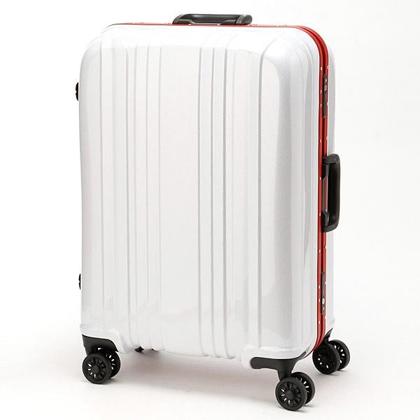 34b8719b49 [マルイ] スーツケースESCAPE`S56L/シフレ(siffler) □カラー:カーボンホワイト(CWH) □サイズ:** □シフレの スーツケースESCAPE`S56Lキズが目立ちにくい!