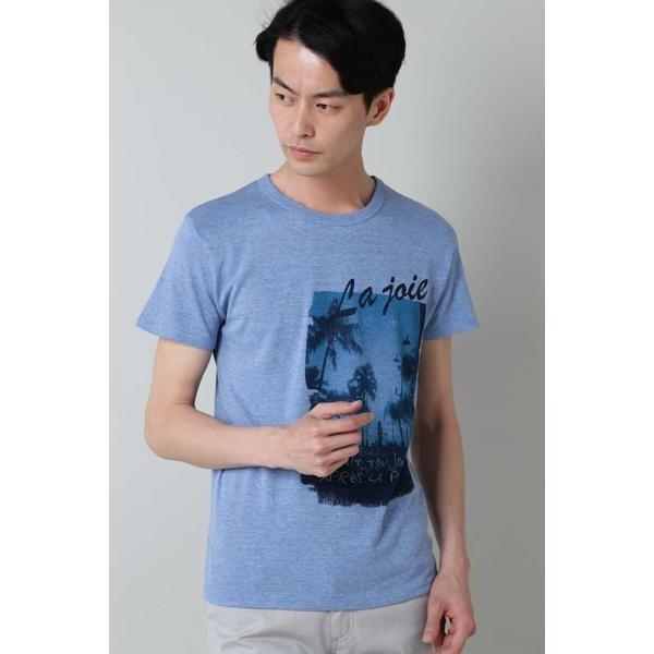 [マルイ]【セール】HIGH STREET∴ヤシの木フォトプリントクルーネックTシャツ/ハイストリート(HIGH STREET)