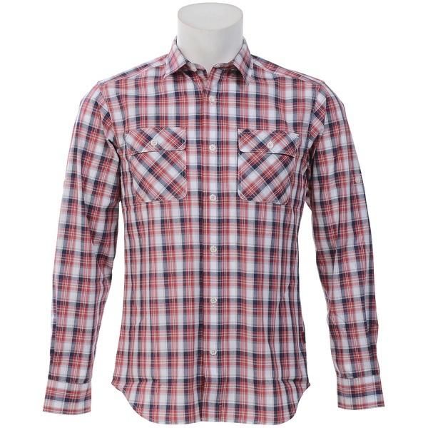 マルイウェブチャネル[マルイ]【セール】トレッキング 長袖チェックシャツ/アルパインデザイン(スポーツオーソリティ)(alpine design)