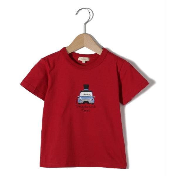 [マルイ]【セール】Tシャツ(ヒゲ&ハット車プルオーバー)/ハッシュアッシュ(キッズ)(HusHusH Kids)