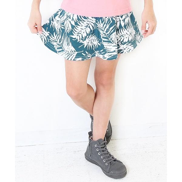 [マルイ]【セール】ポケット付インナーパンツ付柄フレアスカート スカッツ レギンス付スカート/デビロック(devirock)