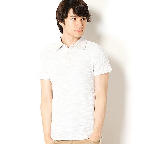 [マルイ]【セール】【AZ by junhashimoto】Slub Polo shirts/アドポーション(ADOPOSION)