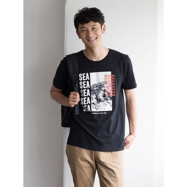 [マルイ]【セール】セブンデイズサンデイ(・SEAフォトプリントTシャツ)/セブンデイズサンデイ(メンズ)(SEVENDAYS SUNDAY)