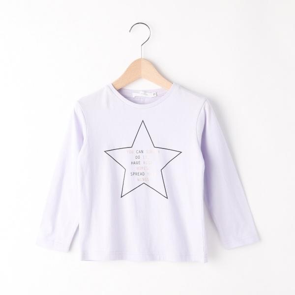 [マルイ]【セール】Tシャツ(【ガールズ】星柄グラフィックロングTシャツ)/ザ ショップ ティーケー(キッズ)(THE SHOP TK Kids)