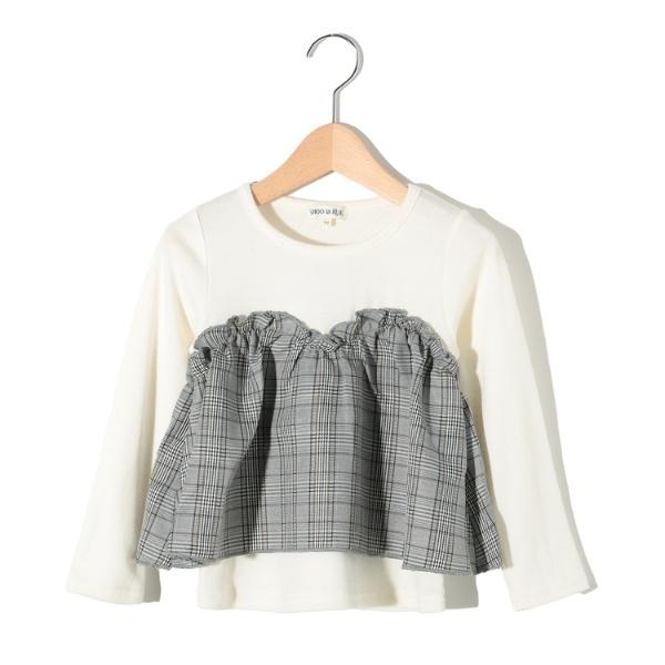 マルイウェブチャネル[マルイ]【セール】Tシャツ(グレンチェックビスチェプルオーバー)/シューラルー(キッズ)(SHOOLARUE Kids)