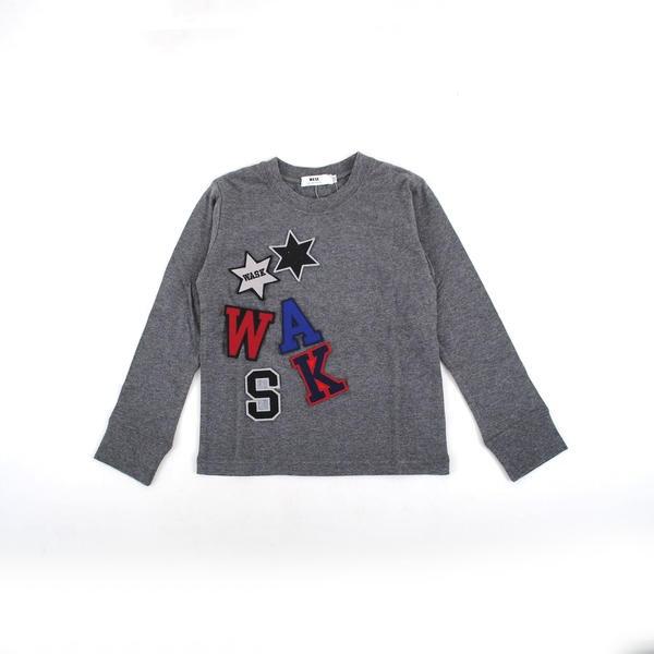 マルイウェブチャネル[マルイ]【セール】天竺ワッペンSETTシャツ(110cm-130cm)/ワスク(WASK)