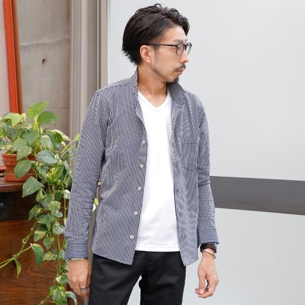 [マルイ] サッカージャージワンピースカラーシャツ/メンズメルローズ(MEN'S MELROSE)