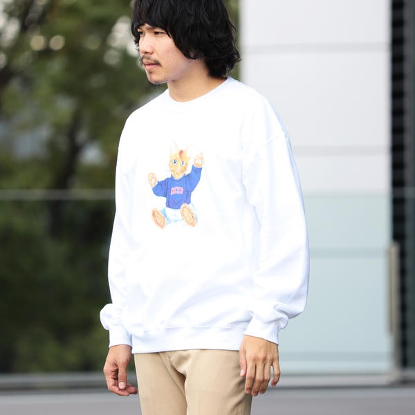 [マルイ]【セール】【SPECIAL PRICE】BEAMS T / NEKO Crewneck Sweatshirt/ビームス(BEAMS)