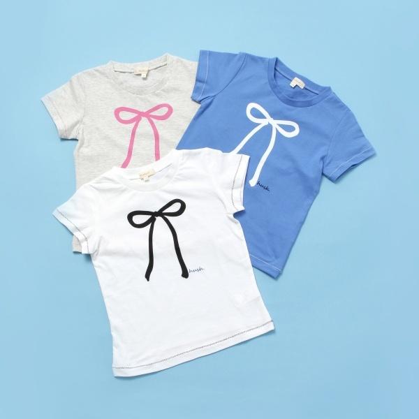 マルイウェブチャネル[マルイ] Tシャツ(【WEB限定 3枚セット】新学期応援ガールズTシャツ)/ハッシュアッシュ(キッズ)(HusHusH Kids)