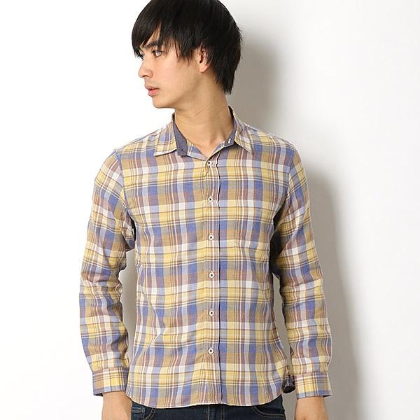 [マルイ] フェードチェックシャツ/メンズメルローズ(MEN'S MELROSE)