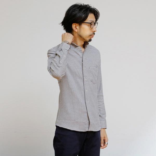 [マルイ] ドビーチドリストレッチワンピースカラーシャツ/メンズメルローズ(MEN'S MELROSE)