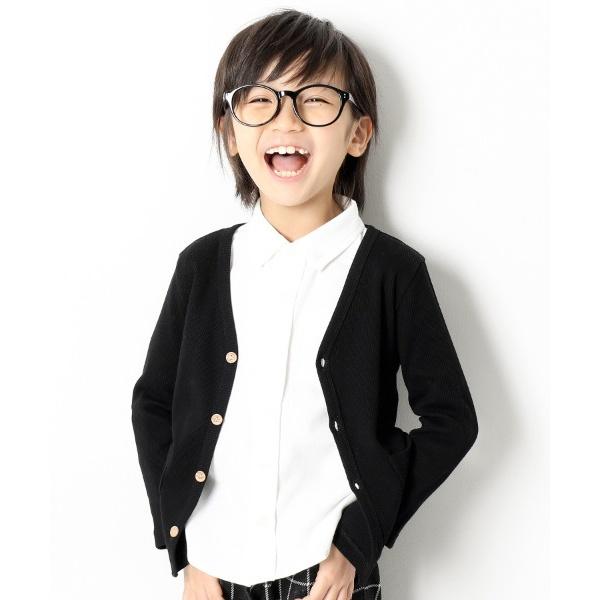 [マルイ]【セール】子供服 キッズ 韓国子供服 Vネックベーシックリブカーディガン 男の子 女の子 カーディガン 羽織/デビロック(devirock)
