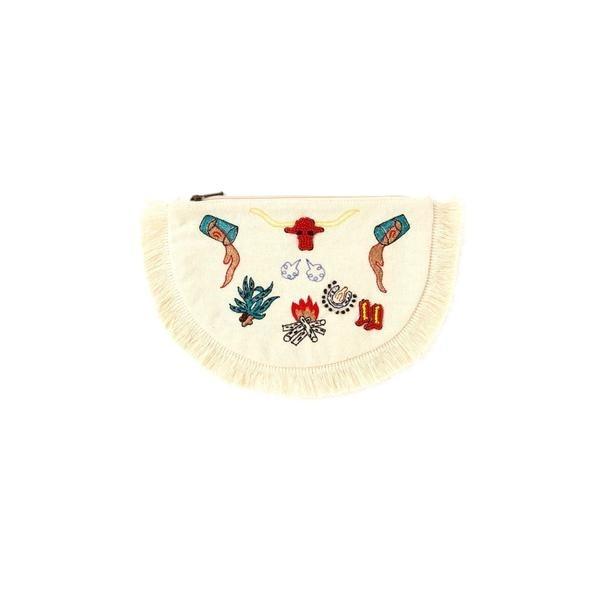 マルイウェブチャネル[マルイ]【セール】フリンジミニポーチ/ローズバッド(ROSE BUD)