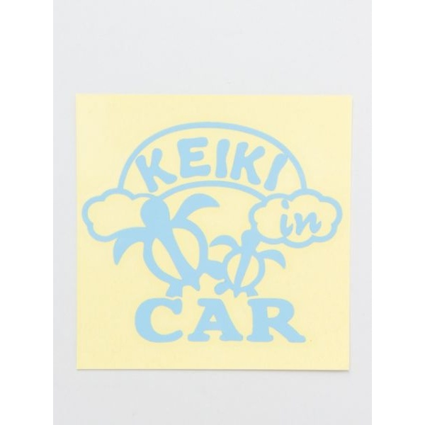 [マルイ]【セール】【Kahiko】KEIKI IN CAR ステッカー/チャイハネ(CAYHANE)