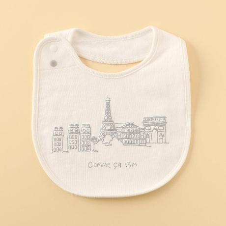 25fbc372c72cb ツーウェイとお揃いで使える、パリの風景のプリントの入ったスタイです。