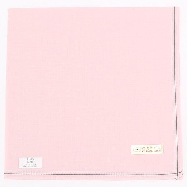[マルイ] 【48×48cm】先染めハンカチ(メンズ)/シーアイランドコットン(sea island cotton)