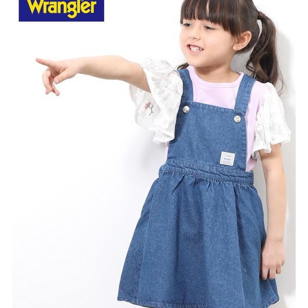 [マルイ]【セール】【WRANGLER×ROPE PICNIC KIDS】ジャンパースカート/ロペピクニック(ROPE' PICNIC)