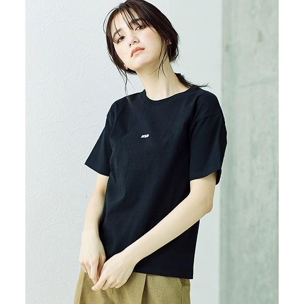 [マルイ]【セール】【SOMETHING】ロゴTシャツ/ナノ・ユニバース(レディース)(nano universe)