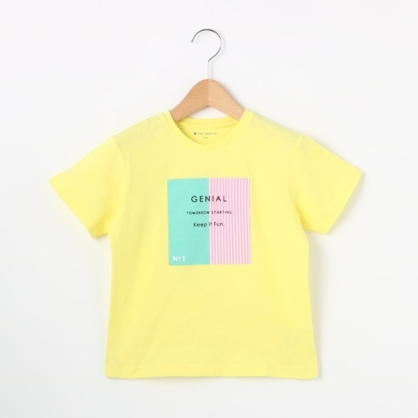 [マルイ]【セール】【100cm-140cm】GIRLS BOXストライプTシャツ/ザ ショップ ティーケー(キッズ)(THE SHOP TK Kids)