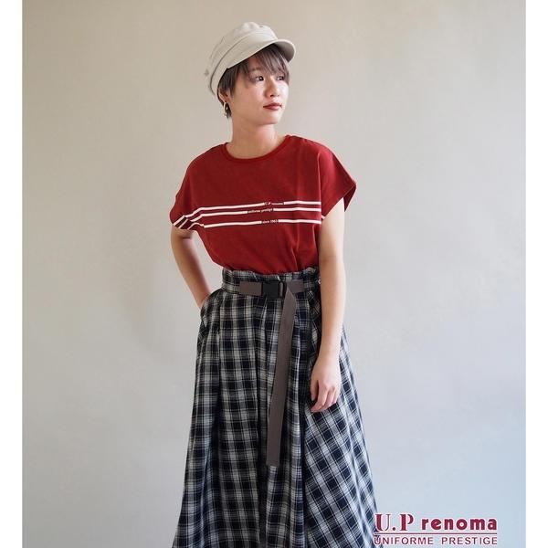 [マルイ]【セール】U.P renomaコラボラインTシャツ/179/WG(179 WG)