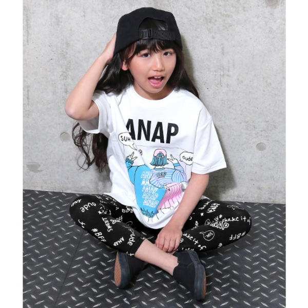 マルイウェブチャネル[マルイ] ガールズプリント総柄レギンス/アナップキッズ&ガール(ANAP KIDS&GIRL)
