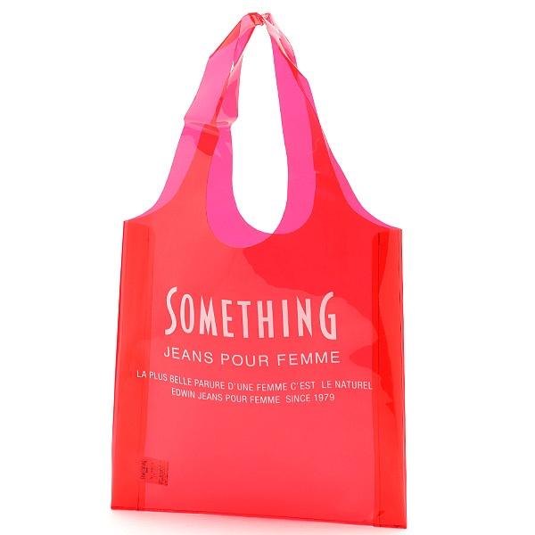 [マルイ] SOMETHING PVC BAG/エドウィン(レディース)(EDWIN)