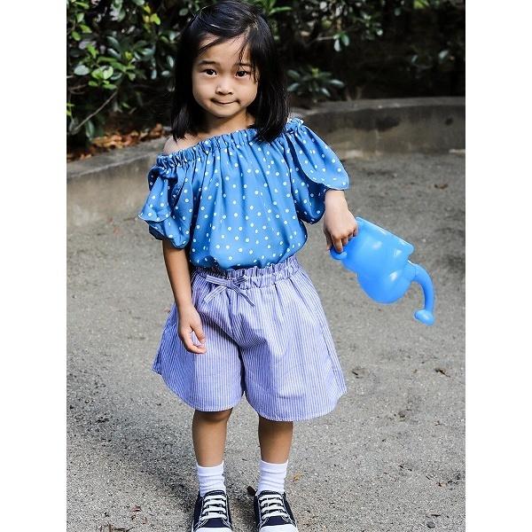 [マルイ]【セール】gaya girl ドット柄プルオーバー半袖ブラウス/オン ザ デイ(on the day)Kid's