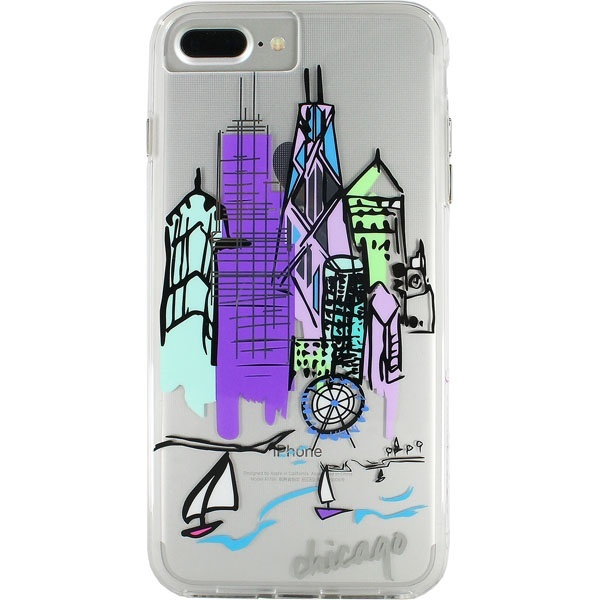 [マルイ]【セール】iPhone8 Plus 対応ケース City Print-Chicago/ケースメイト(Case-Mate)