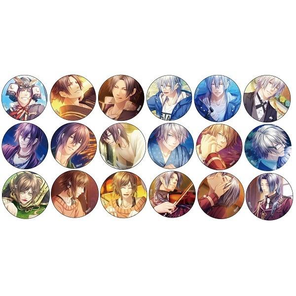 [マルイ] 【KLAP! -Kind Love And Punish-】缶バッジver.2(ランダム全18種)/オトメイト関連グッズ(Otomate goods)