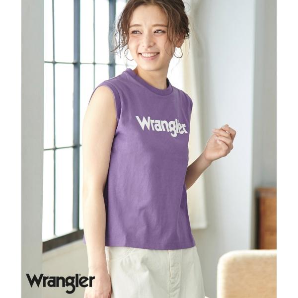 [マルイ]【セール】【WRANGLER×ROPE PICNIC】ロゴノースリーブTシャツ/ロペピクニック(ROPE' PICNIC)