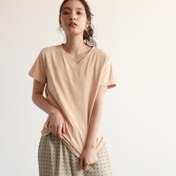 [マルイ]【セール】[洗える]VネックベーシックTシャツ/オゾック(OZOC)