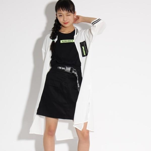 マルイウェブチャネル[マルイ] ロングMA-1+Tシャツ セット/ピンク ラテ(PINK latte)