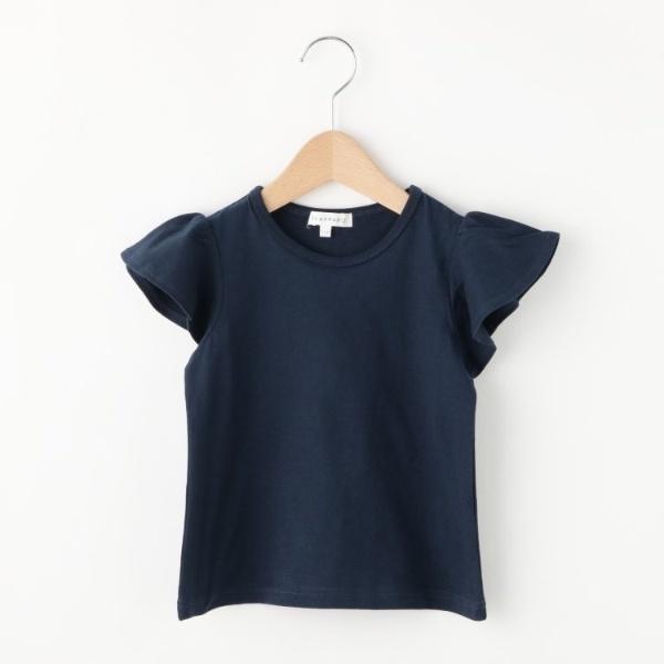 [マルイ]【セール】【コットン100】【90cm?150cm】袖フリルアソートTシャツ/サンカンシオン(キッズ)(3can4on Kids)