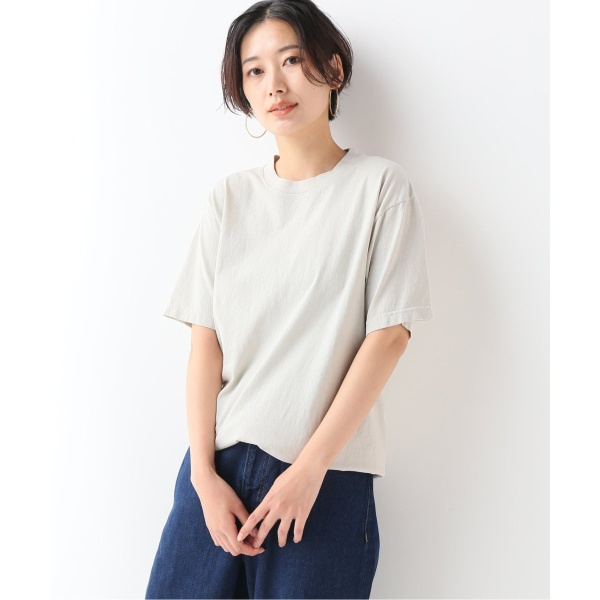 [マルイ] レディスカットソー(【LA APPAREL / ロサンゼルスアパレル】 6.5oz Garment Dye C/N T:Tシャツ)/ジャーナルスタンダード レリューム(レディース)(JOURNAL STANDARD relume)