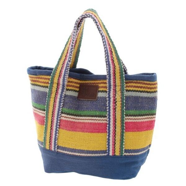 [マルイ]【セール】【チャイハネ】ボーダー織りミニトートバッグ/チャイハネ(CAYHANE)