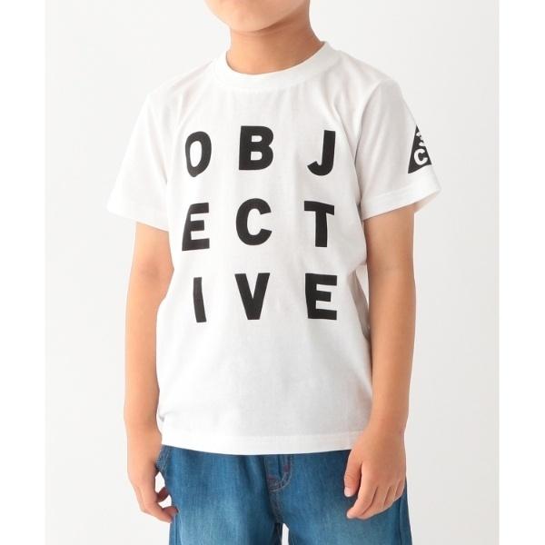 [マルイ]【セール】【コットン100】【90cm150cm】ロゴプリントTシャツ/サンカンシオン(キッズ)(3can4on Kids)