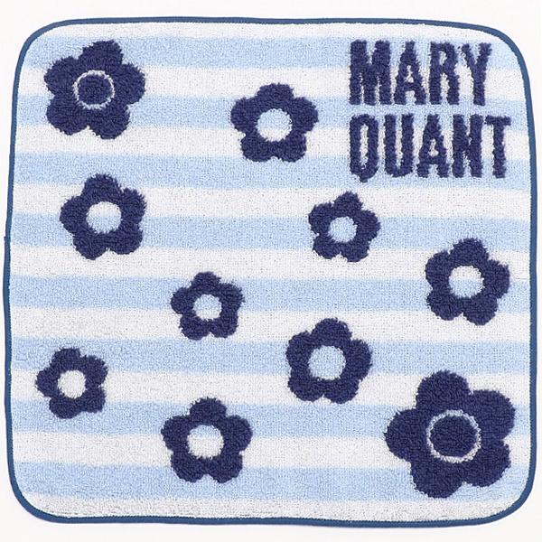 [マルイ] ボーダースプリンクルデイジー ミニタオル/マリークヮント(MARY QUANT)
