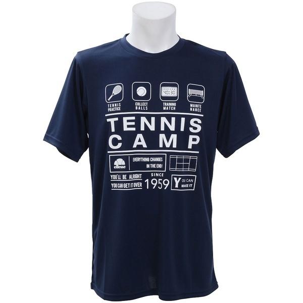 [マルイ] ラケットスポーツ TENNIS CAMP TEE/エレッセ(スポーツオーソリティ)(ellesse)