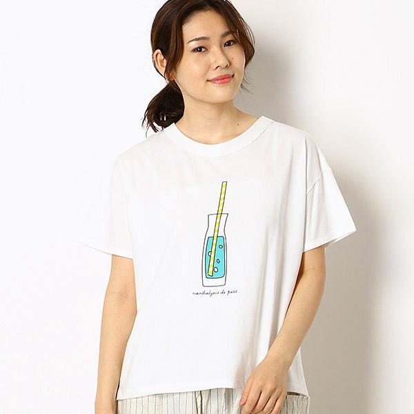 [マルイ]【セール】フルーツウォータープリントTシャツ/ノースオブジェクト プチ.(north object de petit…)