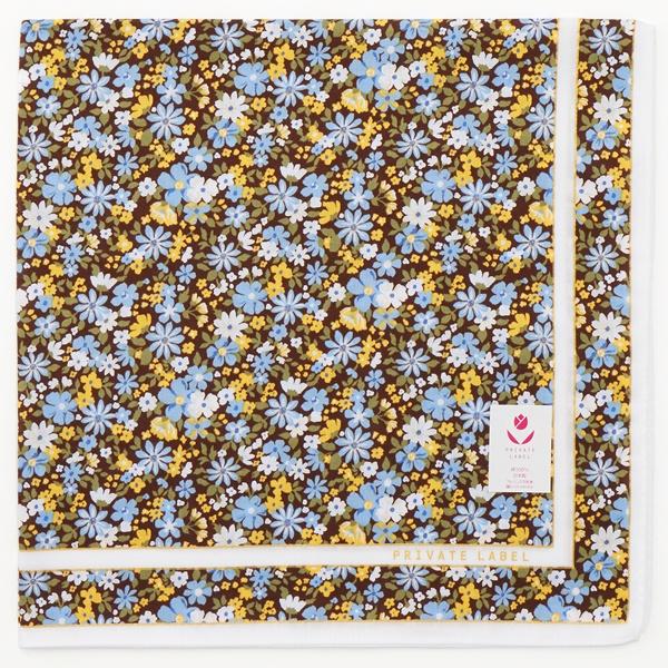 [マルイ] 【50×50cm】プリントハンカチ(レディース)/プライベートレーベル(PRIVATE LABEL/雑貨)