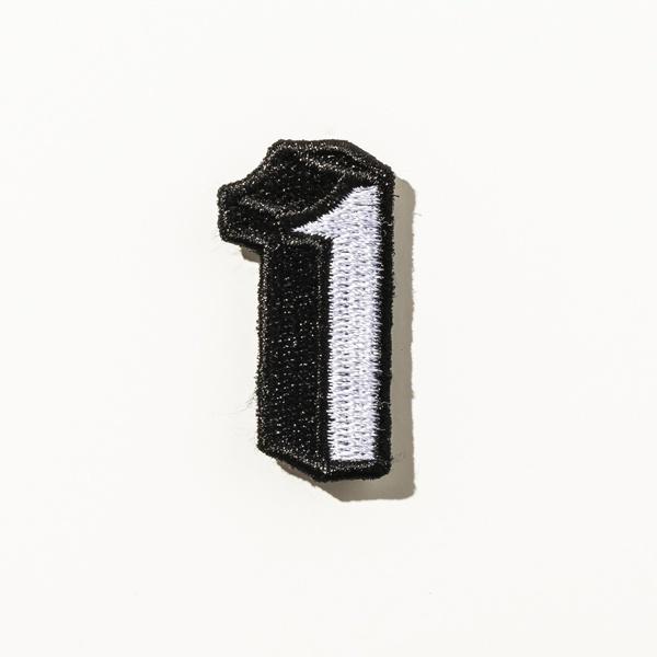 [マルイ] DRESSCAMP (ドレスキャンプ) カスタム用ワッペンピース ナンバー1/ドレスキャンプ(DRESS CAMP)
