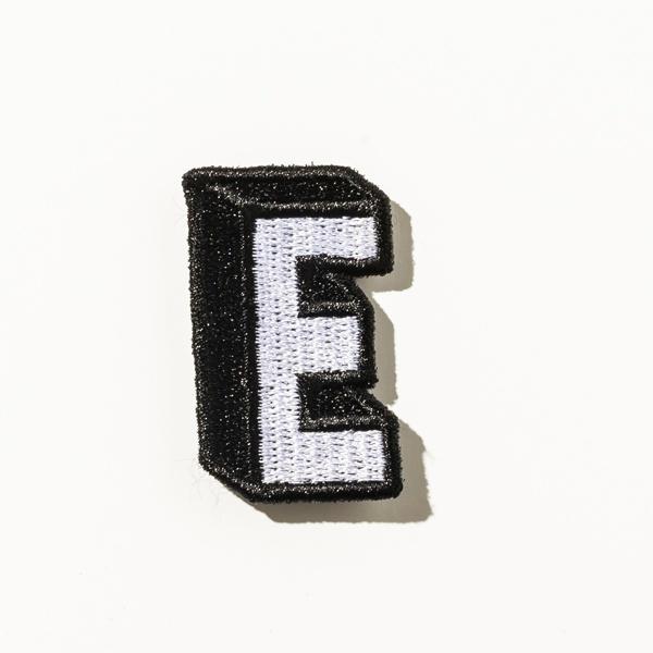 [マルイ] DRESSCAMP (ドレスキャンプ) カスタム用ワッペンピース アルファベットE/ドレスキャンプ(DRESS CAMP)