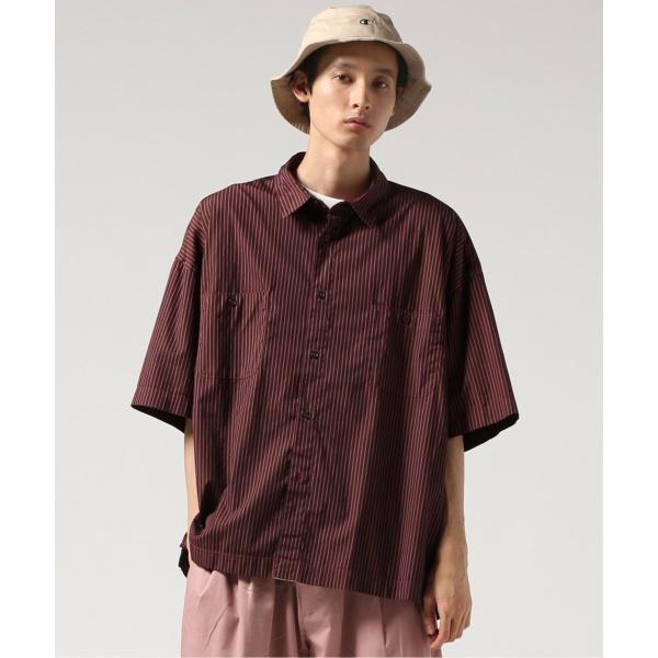 [マルイ]【セール】メンズシャツ(WORK DYE FAT ビックショートスリーブシャツ)/ジャーナルスタンダード トライセクト(Journal Standard TRISECT)