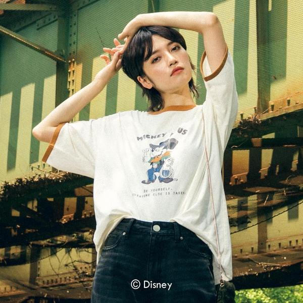 [マルイ]【セール】DISNEY-COLLECTION-MICKEY-Tシャツ/リップスター(LIPSTAR)