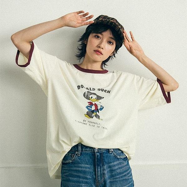 [マルイ]【セール】DISNEY-COLLECTION-DONALD DUCK-Tシャツ/リップスター(LIPSTAR)